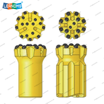 115-152mm Normal Or Retrac ED68 Thread Drilling Button Bits