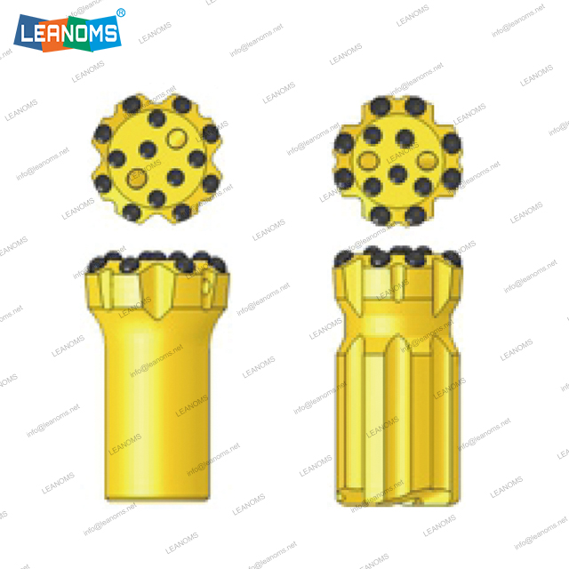 64-115mm Normal Or Retrac T45 Thread Drilling Button Bits