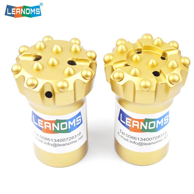 57-89mm Normal Or Retrac T38 Thread Drilling Button Bits