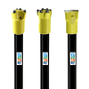 7 Degree 11 Degree And 12 Degree Rock Taper Drill Rod for Mining, Quarry And Tunnel