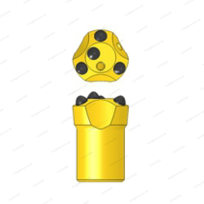 4 Buttons 7° Degree Tapered Button Drilling Bits