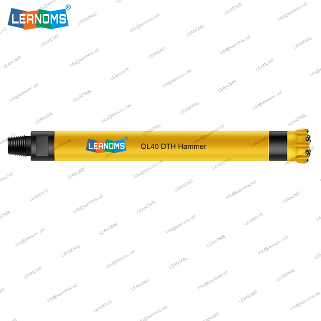 4 Inch QL40 High Air Pressure DTH Hammer Without Foot Valve