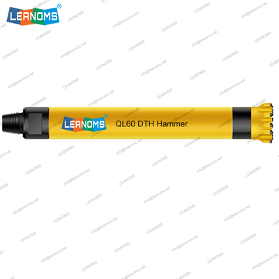 6 Inch QL60 High Air Pressure DTH Hammer With Foot Valve